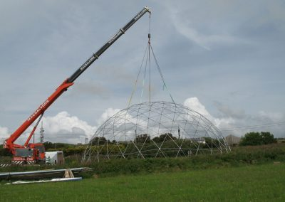 20m Geodesic dome