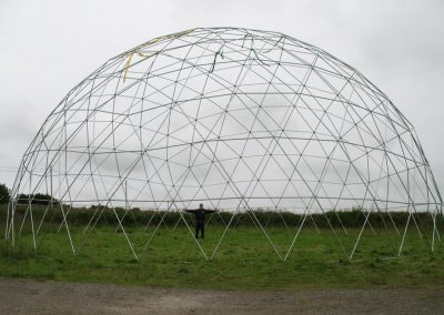 20m Pressed Pole dome